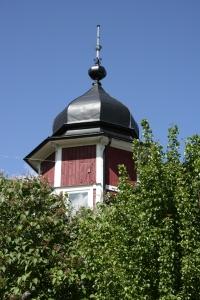 Sekelskifteshus med torn
