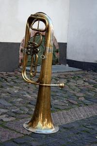 Instrument gatumusikant Riga