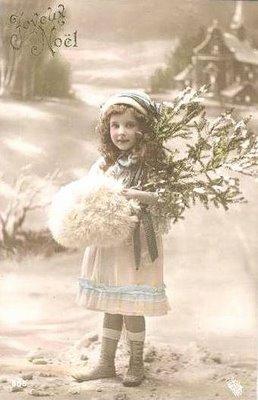 Julkort Vintage