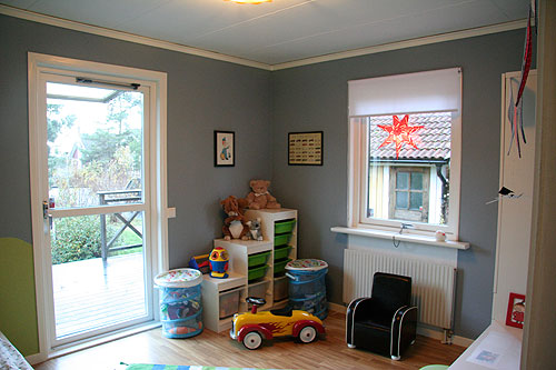 Barnrum efter renovering