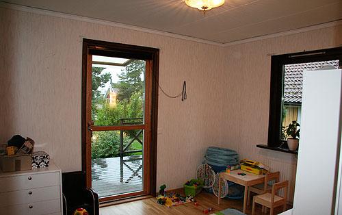 Barnrum innan renovering