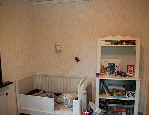 Barnrum före renovering