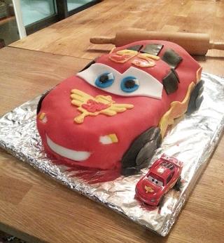 Tårta Bixten McQueen