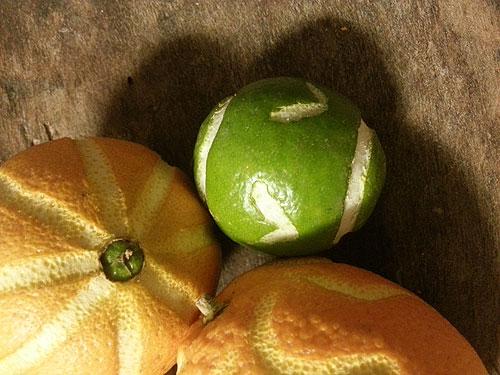 Ciselerad citrusfrukt