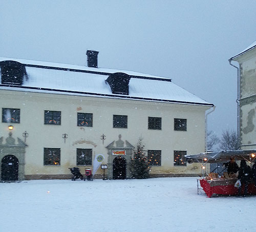 Julmarknad Löfstad slott