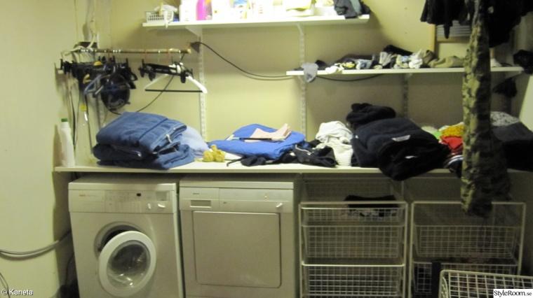Tvättstuga före renovering