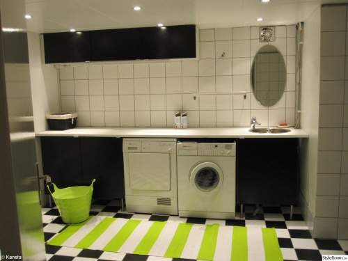 Tvättstuga efter renovering