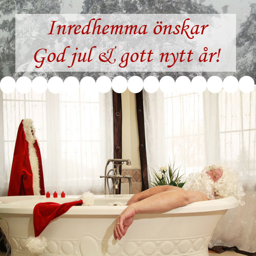 Badrumsinredning god jul