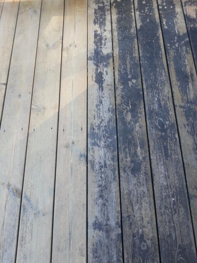 Renovera gammal altan
