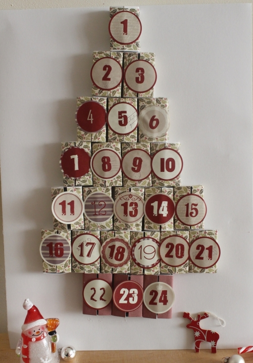 Adventskalender pyssel